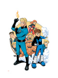 Power Pack No.3 Cover: Zero-G Prints by  Gurihiru