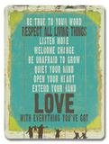 Love is Everything You've Got Wood Sign