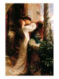 Romeo i Julia Wydruk giclee premium autor Frank Bernard Dicksee