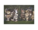 Let the Wild Rumpus Start III Prints by Maurice Sendak