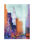 Manhattan Chrysler Building Prints by Colin Ruffell