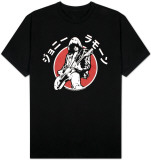 Johnny Ramone - Japanese Silhouette T-shirts