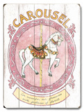 Carousel Wood Sign