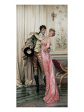 The Embrace Premium Giclee Print by Joseph Frederic Soulacroix