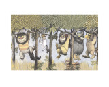 Let the Wild Rumpus Start II Prints by Maurice Sendak