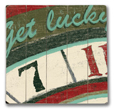 Get Lucky Wood Sign