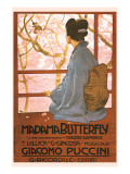 Puccini, Madama Butterfly Premium Giclee Print by Leopoldo Metlicovitz