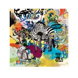 Kaleidoscope (Zebra) Art by Ben Allen