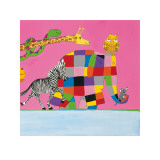 Elmers Friends are all Different Prints by David Mckee