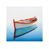 Boat in a Tranquil Bay Prints by Horacio Cardazo