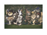 Maurice Sendak - Let the Wild Rumpus Start III - Art Print