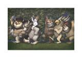 Let the Wild Rumpus Start III Posters by Maurice Sendak