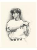 Lou Gehrig Giclee-tryk i høj kvalitet af Allen Friedlander