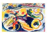 Sobre el tema del Juicio Final Lámina giclée premium por Wassily Kandinsky