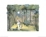 A Forest Grew Print by Maurice Sendak