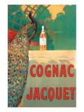 Cognac Jacquet Giclee-tryk i høj kvalitet af Camille Bouchet