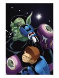 Skrulls Vs. Power Pack No.1 Cover: Mass Master Poster by  Gurihiru