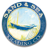 Sand & Sea Wood Sign