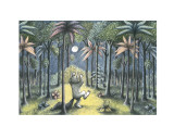 To the Land of the Wild Things Print by Maurice Sendak