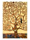 Livets træ   Giclee-tryk i høj kvalitet af Gustav Klimt