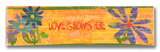 Love Grows Wood Sign