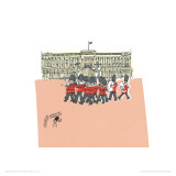 Theyre Changing the Guard at Buckingham Palace II Kunstdrucke von Susie Brooks