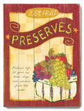 Preserves Wood Sign