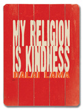 My Religion Wood Sign