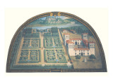 Villa dell&#39;Ambrogiana Gicl&#233;e-Premiumdruck von Giusto Utens