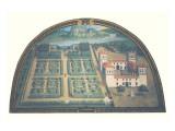 Villa dell'Ambrogiana Giclée-Premiumdruck von Giusto Utens