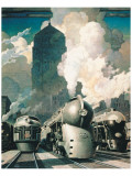 New York Central System Premium Giclee Print
