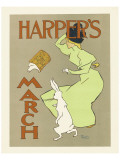 Harper's Magazine, March 1894 Premium Giclee Print by Edward Penfield