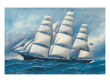 Glory of the Seas Premium Giclee Print by Antonio Jacobsen