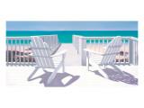 Best Seats in the House Giclée-Premiumdruck von Lin Seslar