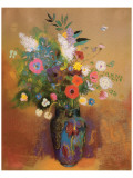 Bouquet of Flowers, c.1905 Premium Giclee Print by Odilon Redon
