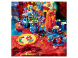 Tea Party Premium Giclee Print by Peter Graham