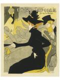 Divan Japonais Music Hall Premium Giclee Print by Henri de Toulouse-Lautrec
