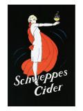 Schweppes Cider Giclee-tryk i høj kvalitet