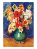 Bouquet de Fleurs, 1905 Premium Giclee Print by Pierre-Auguste Renoir