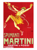 Martini and Rossi, Spumanti Martini Premium Giclee-trykk