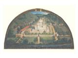 Villa di Cafaggiolo Premium Giclee Print by Giusto Utens