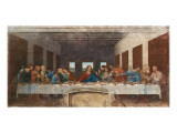 The Last Supper, c.1498 Premium Giclee Print by  Leonardo da Vinci