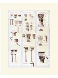 Libero Patrignani - Columns Study - Birinci Sınıf Giclee Baskı