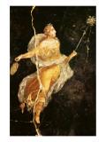 Fresco Menade con Tirso e Tamburello Premium Giclee Print