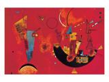 Mit und Gegen Giclée-Premiumdruck von Wassily Kandinsky