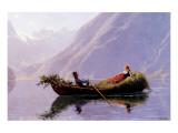 A Summer Romance Premium Giclee Print by Hans Dahl