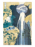 Cascade of Amida, Province of Kiso, c.1830 Premium Giclee Print by Hokusai Katsushika