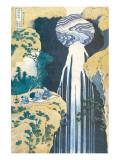 Cascade of Amida, Province of Kiso, c.1830 Premium Giclee Print by Katsushika Hokusai