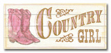 Country Girl Wood Sign