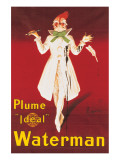 Waterman Premium Giclee Print by Leonetto Cappiello